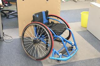 車椅子バスケ車サンプル