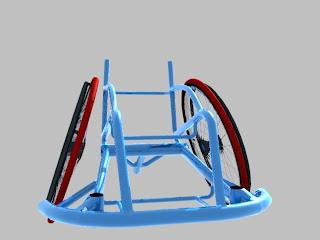 車椅子バスケ車
