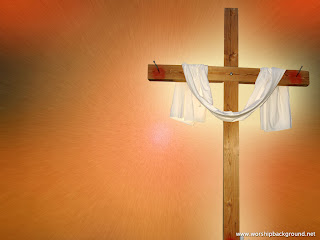 Red color Jesus Worship Background Picture