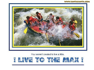Motivational Wallpaper on life : Live to the max