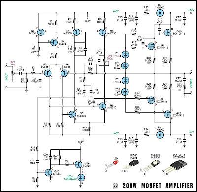 Electronics Circuit , Service manual TV, Schematic