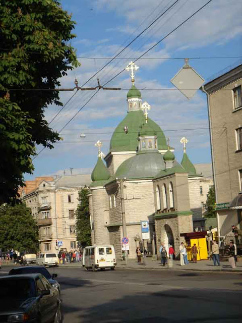 West Ukraine, Ternopil: The Church of Christmas (Orthodoxy)