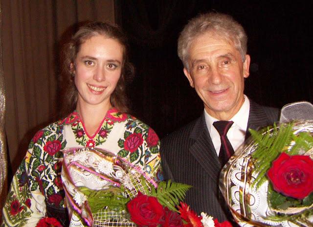 Angela Svidun and Isidor Doskoch