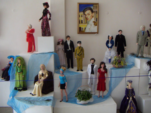 Collection of Celebrities Dolls, made by Natalia Basarab, Ternopil city, Ukraine