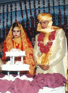 saqlean mushtaq wedding pic