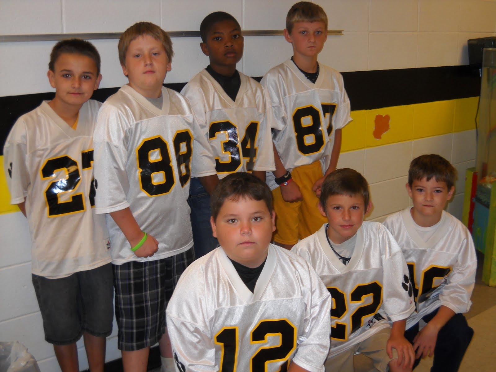 Mrs Lee S Class 414 My Football Players Amp Cheerleaders