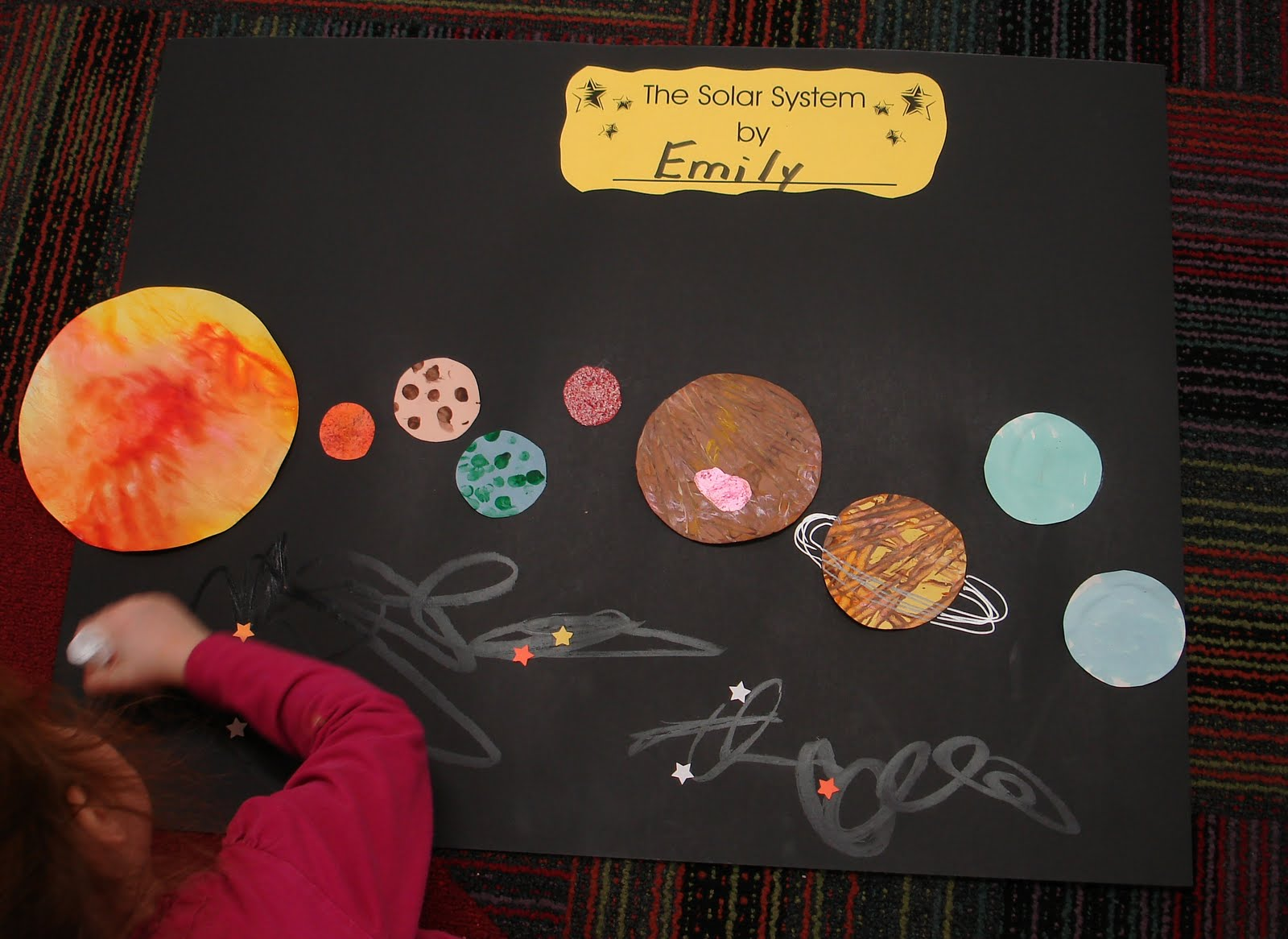 Mrs Karen S Preschool Ideas The Solar System