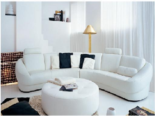 Decora y disena salas modernas - Decorar muebles blancos ...