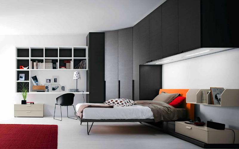 Decora y disena decoraci n de rec maras juveniles modernas for Imagenes de recamaras estilo minimalista