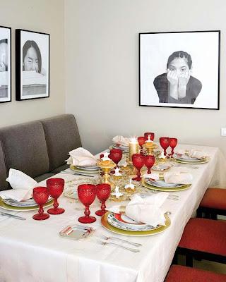 Decora y disena ideas de decoraci n de mesa navide a - Decoracion mesa navidena ...
