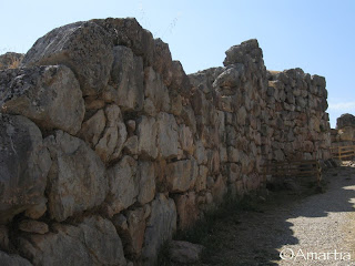 Tirynthe Nauplie Nafplio Argolide Peloponnèse Grèce