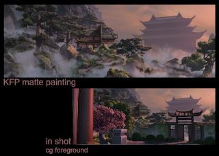 Paul Duncan-Paint Spill: Kung Fu Panda - Matte painting