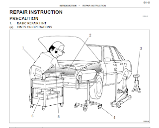 repair-manuals: 2004 Toyota Corolla Repair Manual