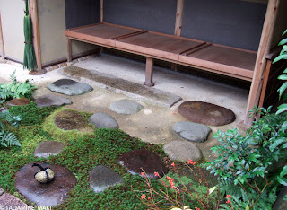 A waiting space for tea ceremony, at Kobai-in Daitokuji Temple, in Kyoto