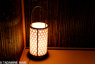 In praise of shadow 3, a light in a house, Kyoto