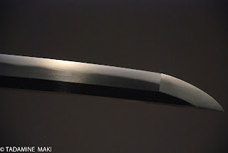 Japanese sword for samurais, Kyoto, Japan