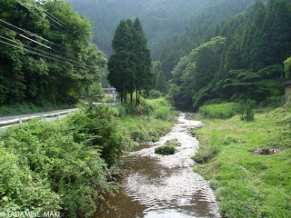 Typical rural scenery outside of Kyoto city