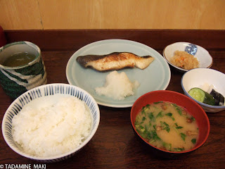 Theme Day for the month of 1, August: Typical breakfast, Kyoto