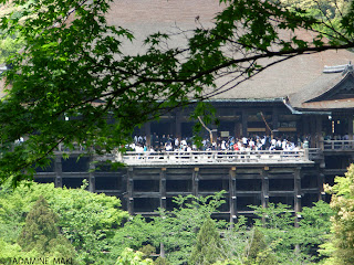 Another view of Kiyomizu Temple, Kyoto