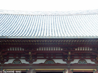 Well balanced architecture, Jingoji Temple, Kyoto