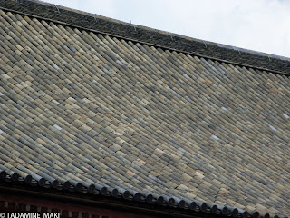 The beauty of tile roofs, at Toji Temple, in Kyoto