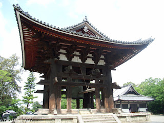 A building for ringing the bell, at Todaiji Temple, Nara