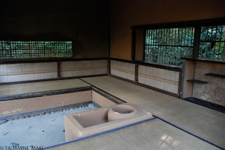 A small cottage for tea ceremony, at Katsura Imperial Villa, in Kyoto