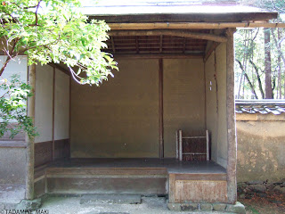 A rustic house, at Saiho-ji Temple, in Kyoto