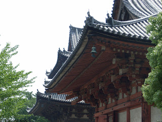 Rhythm of the roofs, at Toji Temple, in Kyoto