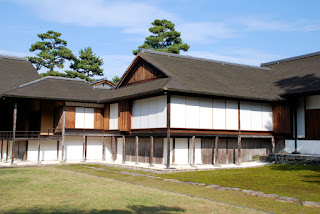The simplicity of the old but modern-like, at Katsura Imperial Villa, in Kyoto