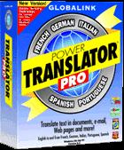 globalink power translator portable