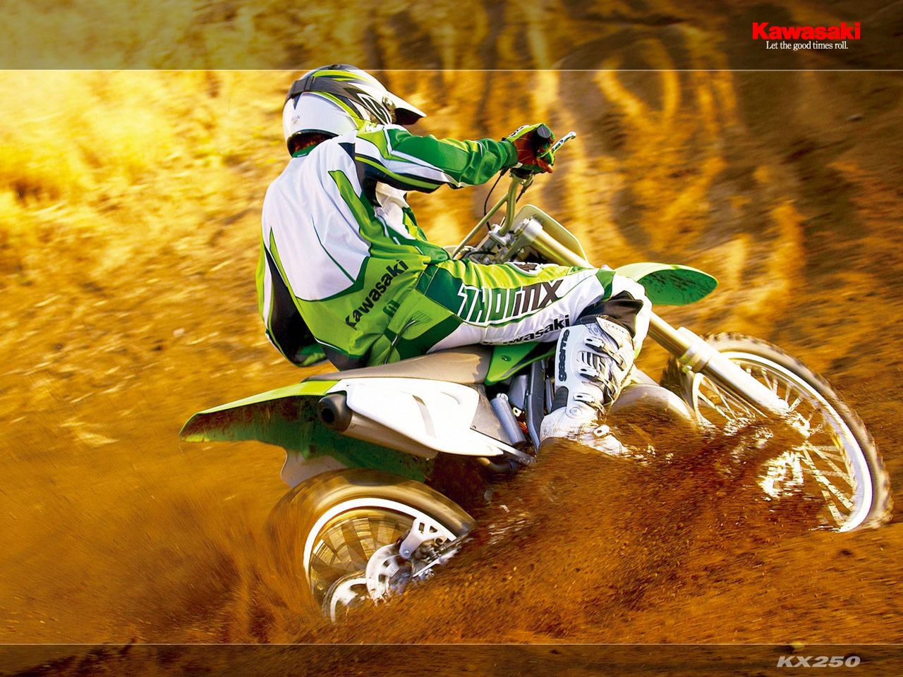 Wallpaper Kawasaki Klx 250  wallpaper