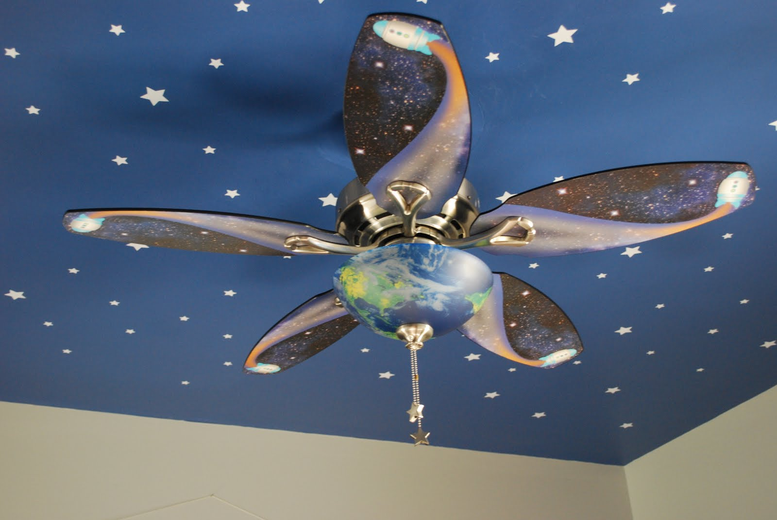 Fussy Monkey Business: E's Space Themed Room