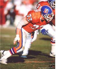 premium selection b8518 d87a8 Denver Broncos Players History: Karl Mecklenburg