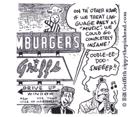frame from Bill Griffith's Zippy 12-19-06