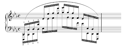 Brahms exercise no. 5.