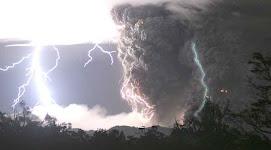 la fuerza del volcán en Chile