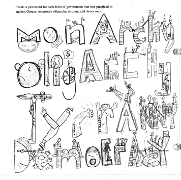 MMS 7th Grade Social Studies: Pictoword