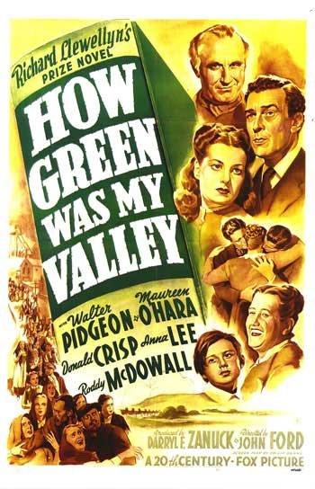 Αποτέλεσμα εικόνας για Τζον Φορντ - Τι πράσινη που ήταν η κοιλάδα μου