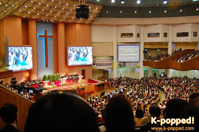 Sunday service at Yoido Full Gospel Church · K-POPPED!