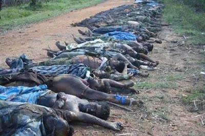 Tamil Civilians Killed