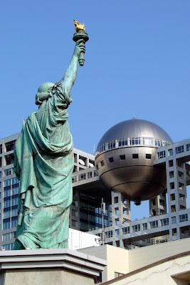 Statue de la liberté de Odaïba