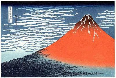Estampe de Hokusai