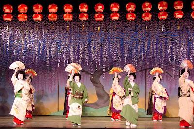 Spectacle des geishas de Pontocho