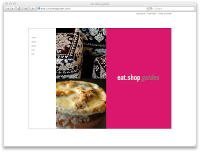 Cabazon's original eat.shop homepage