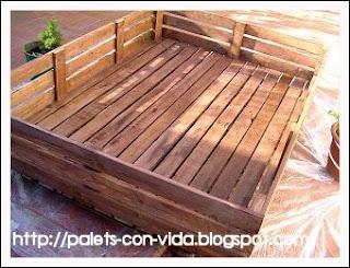 jardineras de pals - Jardineras Con Palets