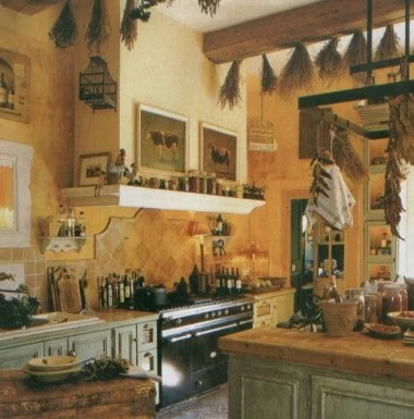 The Feathered Nest ~: What style do YOU love? - French Kitchen Decorating Themes