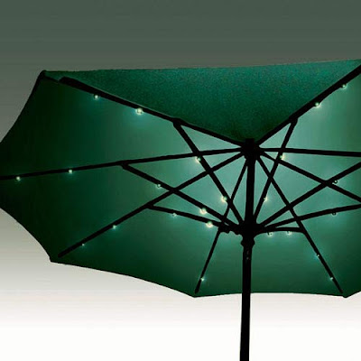 Patio Umbrella Lights, Outdoor Umbrella Light, Umbrella Solar Lights