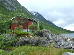 Une cabane de pêcheurs. (Hytte)