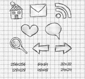 Internet para bobos: Una bonita coleccion de iconos hechos